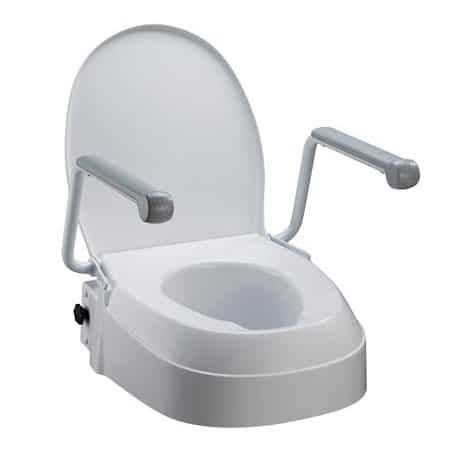 Astounding Raised Toilet Seat With Swing Back Arms Gmtry Best Dining Table And Chair Ideas Images Gmtryco