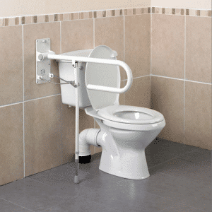 Support Rail for Toilet