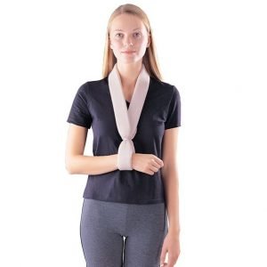 Collar and Cuff Sling with Ties